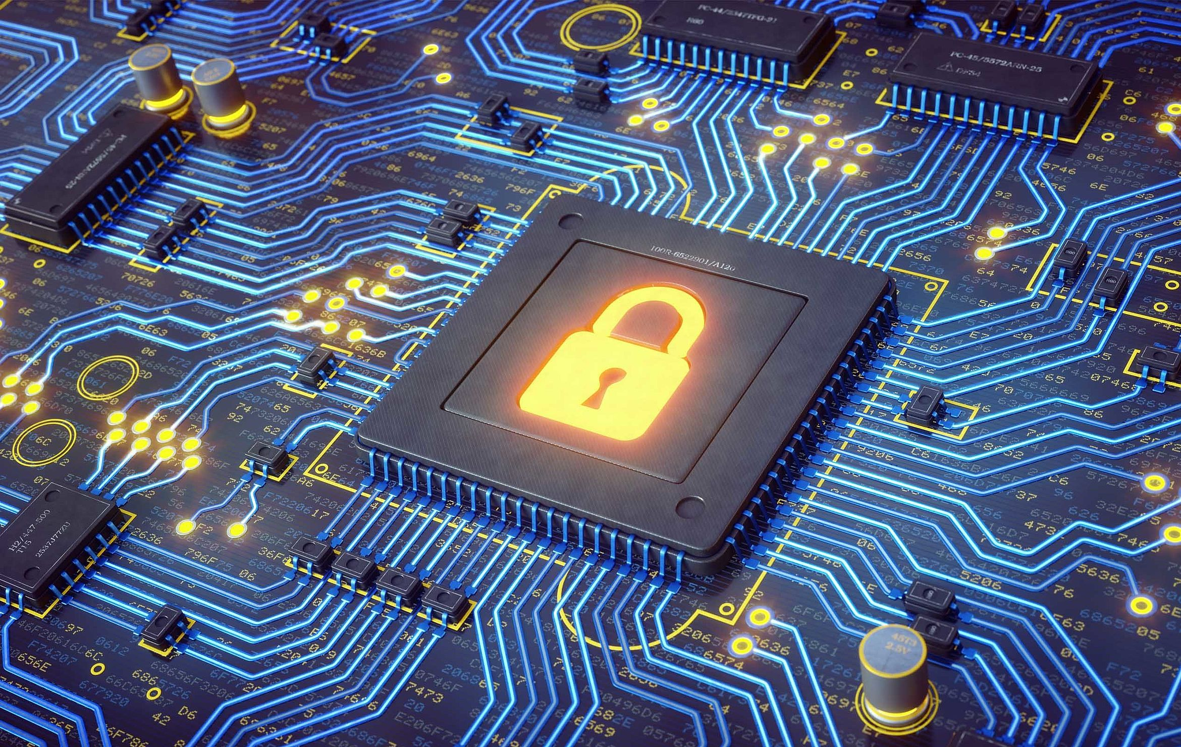 Cyber security in gas and water supply