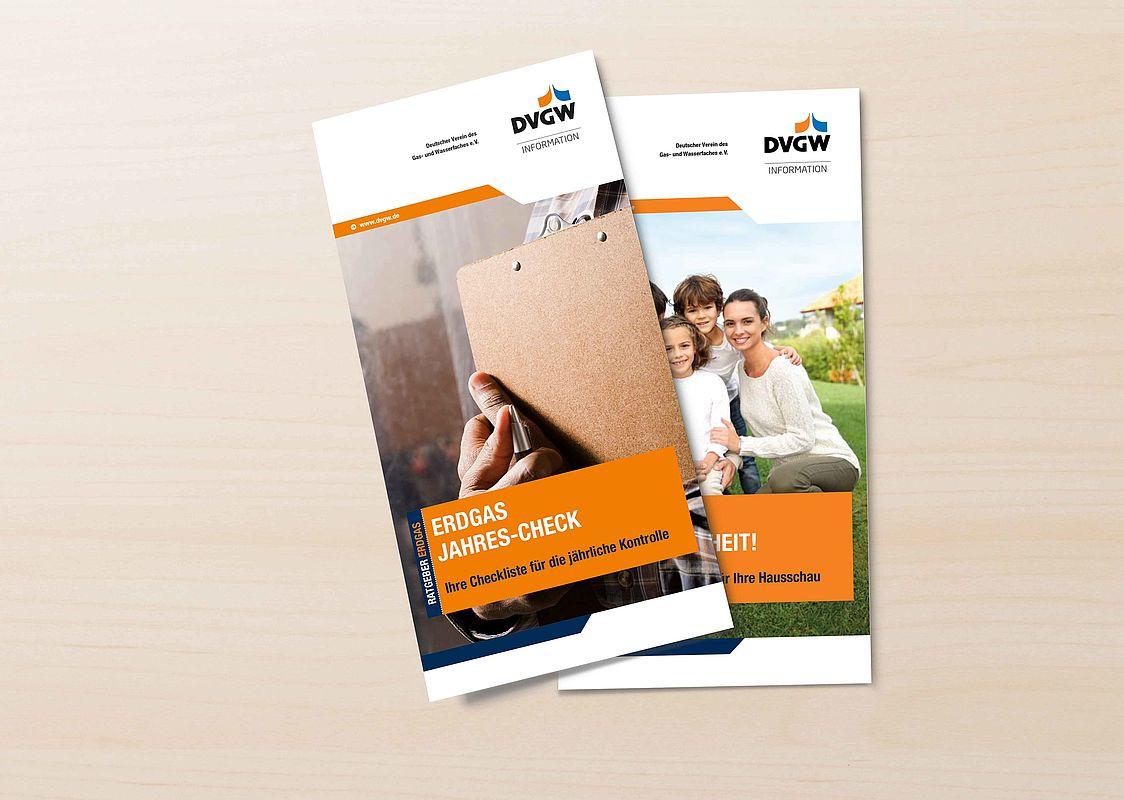 Hervorragend DVGW: Erdgas mit Sicherheit/Erdgas-Jahrescheck CD44
