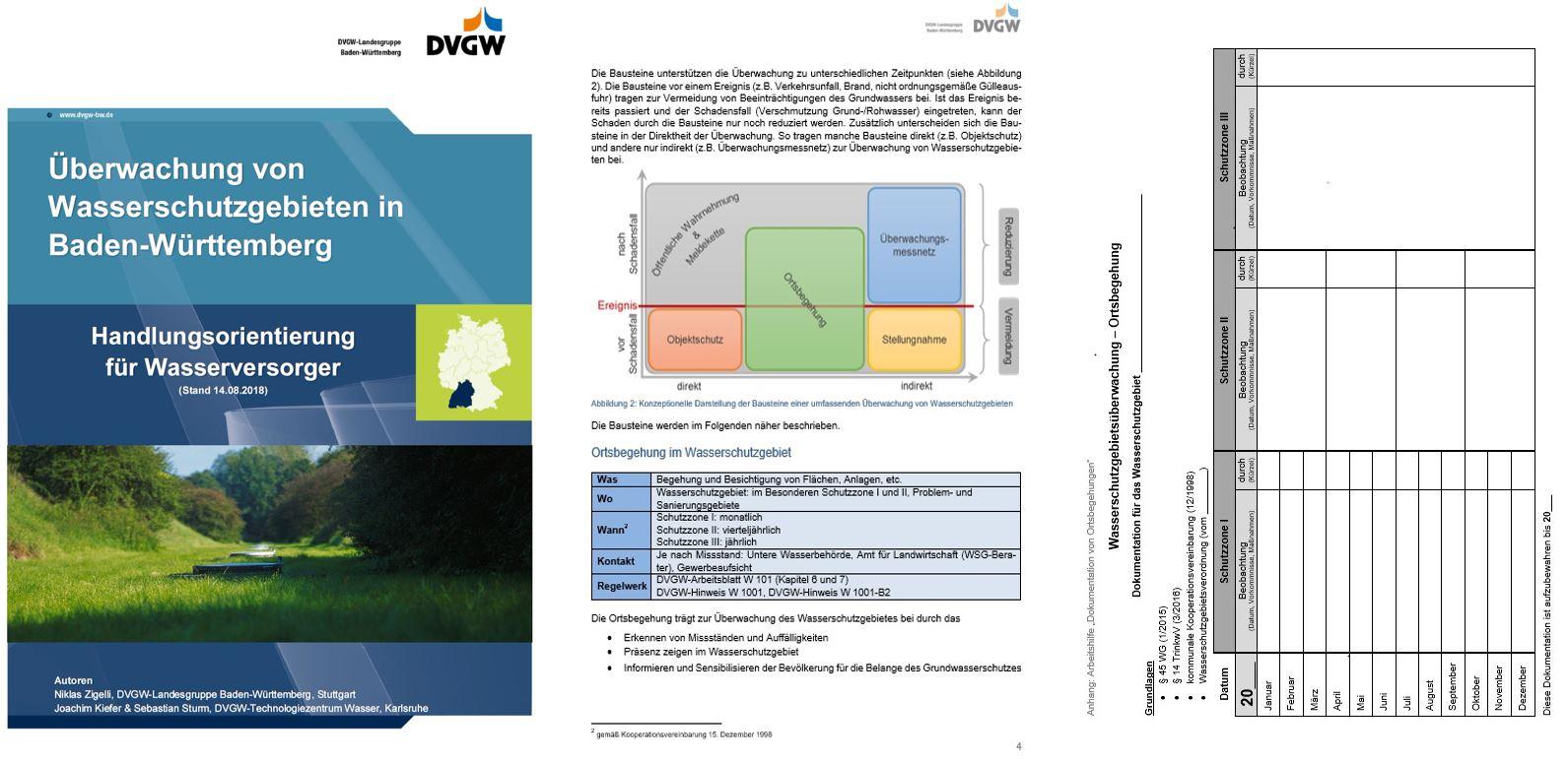 DVGW: Überwachung von Wasserschutzgebieten